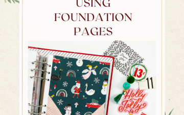 Theresa Moxley December Daily 2020 | Foundation Pages Ft Crate Paper Hey Santa